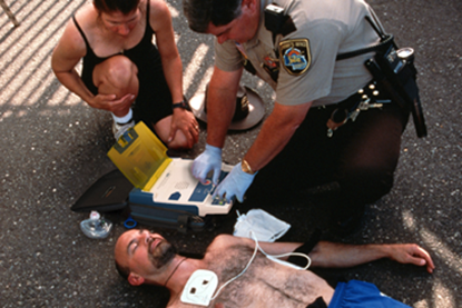 Picture of Cardiopulmonary Resuscitation (CPR) Training