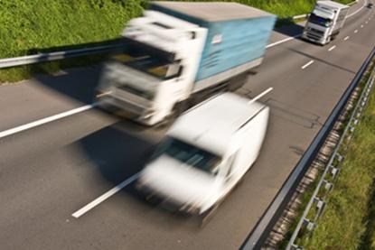 图片 Hazards of Changing Lanes - Light Commercial Vehicles