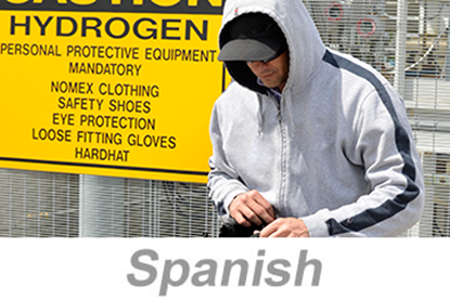 Imagem de Chemical Facility Security Awareness Training (Spanish)