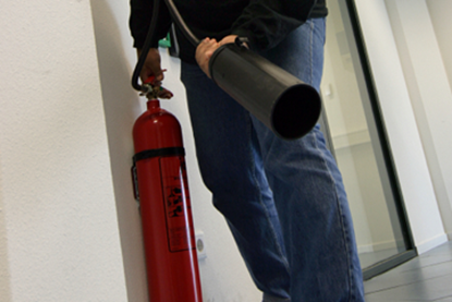 Picture of Fire Extinguisher Safety