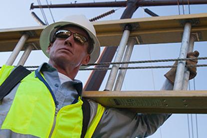 Bild von Ladder Safety