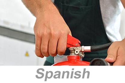 Bild von Fire Extinguisher Safety for Construction, Parts 1-2 (US) (Spanish)